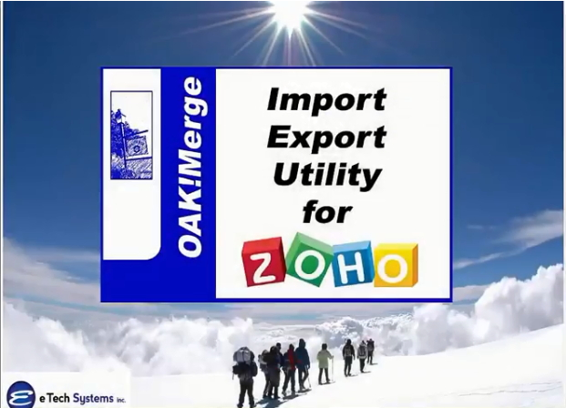 OAKMerge_ or Zoho DEMO